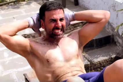 How Akshay Kumar stays fit without going to the gym!  This fitness freak does not follow the conventional rules to stay in shape.