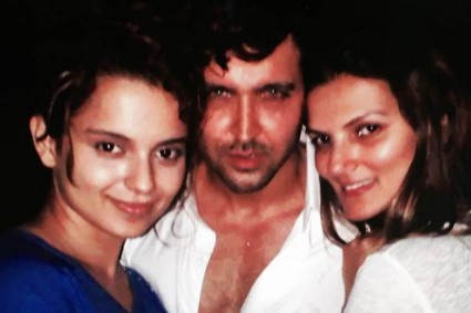 Hrithik Roshan took Arjun Rampal's APPROVAL before releasing party pics with Kangana Ranaut!