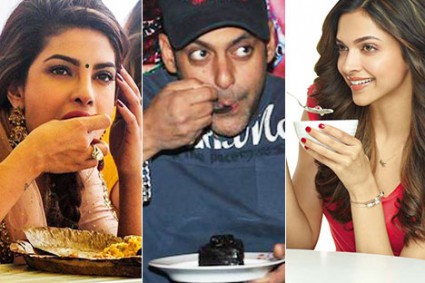 What do Bollywood stars eat