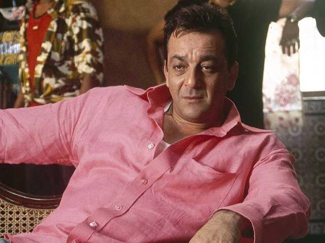 Sanjay Dutt faces the camera for the first time after coming out of jail.