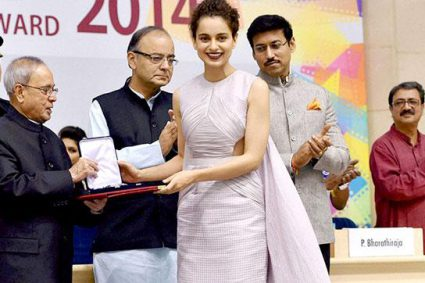Here's what Kangana Ranaut has to say on her National Award win.