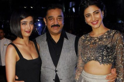 kamal Haasan and daughters Shruti and Akshara to work on a project soon