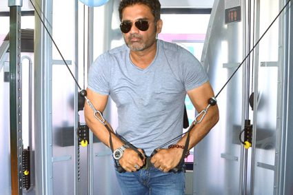 Suniel Shetty is penning book on health and fitness
