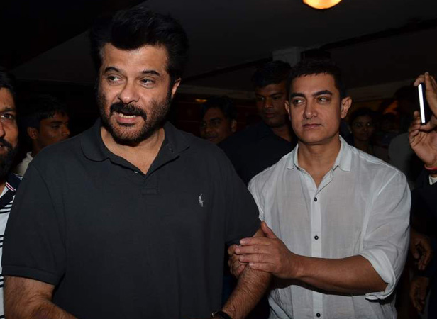 Anil Kapoor looks up to Aamir Khan for inspiration for doing both television shows and films.