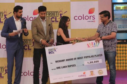 Tanya Sharma wins mChamp Most Popular Player of Frooti BCL `Takes home a winning amount of Rs 1 Lakh`