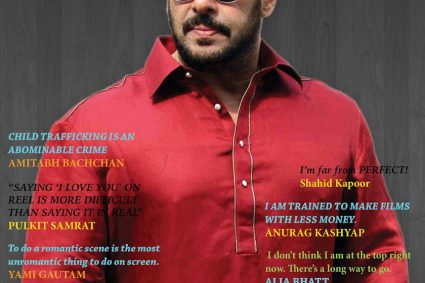 GLOBAL MOVIE SALMAN KHAN COVER FOR JULY 2016