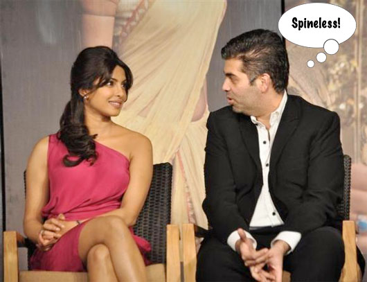 Buzz is that Karan Johar's production house has also started making commercials. One of KJo's ads features Priyanka Chopra