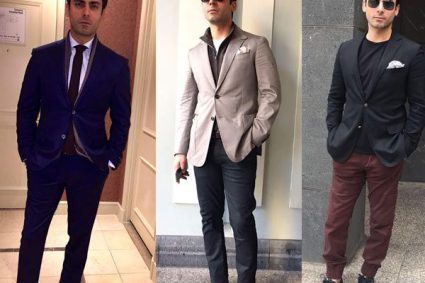 awad Khan is looking dreamy as ever dressed up for Indian Film Festival of Melbourne