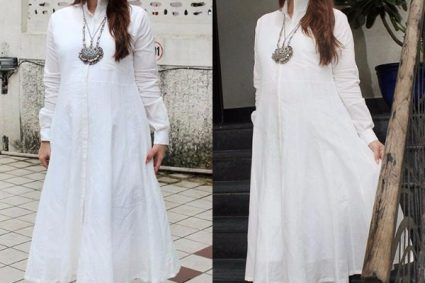 Kareena Kapoor Khan looks like a dreamy goddess in this white Rajesh Pratap Singh creation. Tell us your thoughts on the same in the comments section!