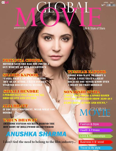 GLOBAL MOVIE MAGAZINE APRIL2017 COVER PAGE