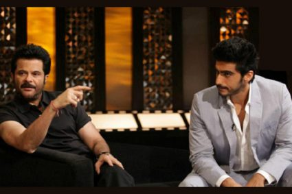 """Arjun Kapoor will be married first in our family, says Anil Kapoor  who is gearing up for the release of """"Mubarakan"""", said that they chose the wedding theme for the film as they want actor Arjun Kapoor to get married and they will at least try to get him married first in the family."""