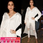 Anushka-Sharma-in-a-white-Deme-shirt-and-Pul-and-Bear-denims-for-Haawayein-song-launch-from-Jab-Harry-Met-Sejal-8
