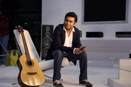 """Music maestro A.R. Rahman on Friday unveiled a 19-minute music piece titled """"The flying lotus"""", based on Prime Minister Narendra Modi government's move to demonetise high value currency notes."""