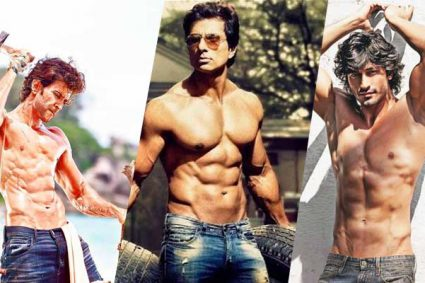 Top 10 Bollywood Actors With Good Body / Physique (2017)