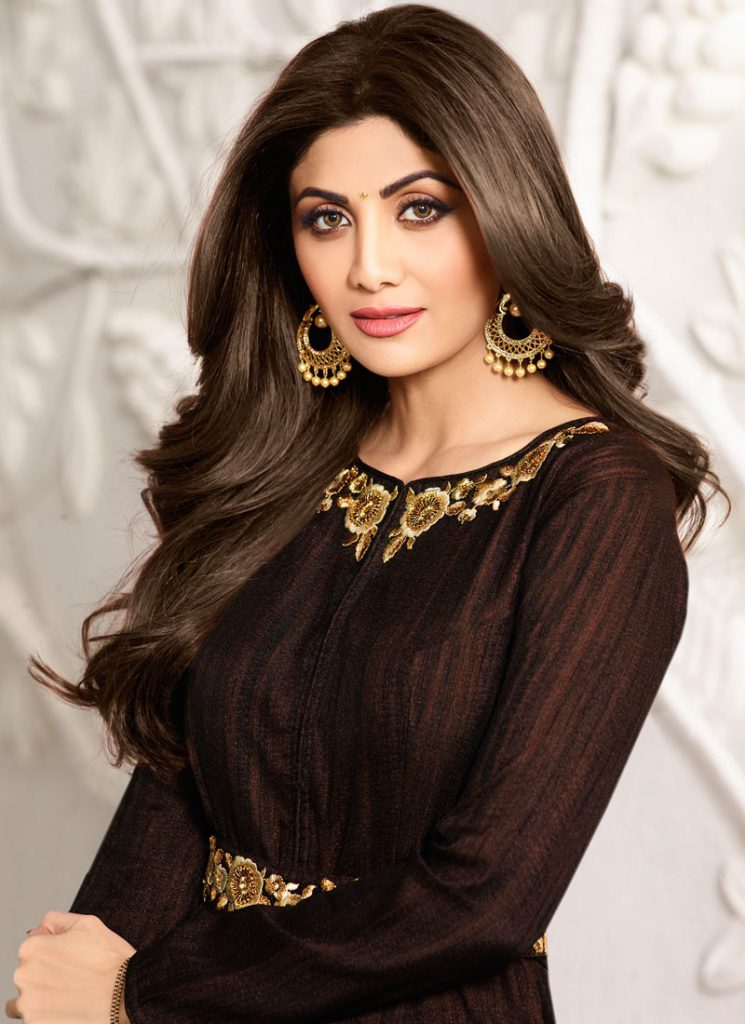 shilpa-shetty-brown-zari-work-floor-length-anarkali-suit-49223-1-800x1100