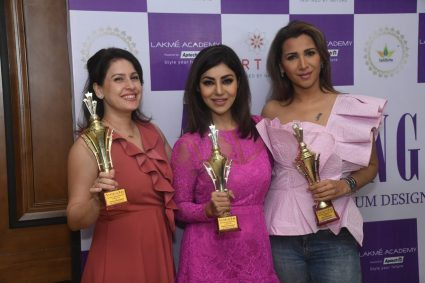 Actress Debina Bonnerjee who was last seen in the show Vish took home the Style & Glam Icon Award at The Aspiring She Awards!
