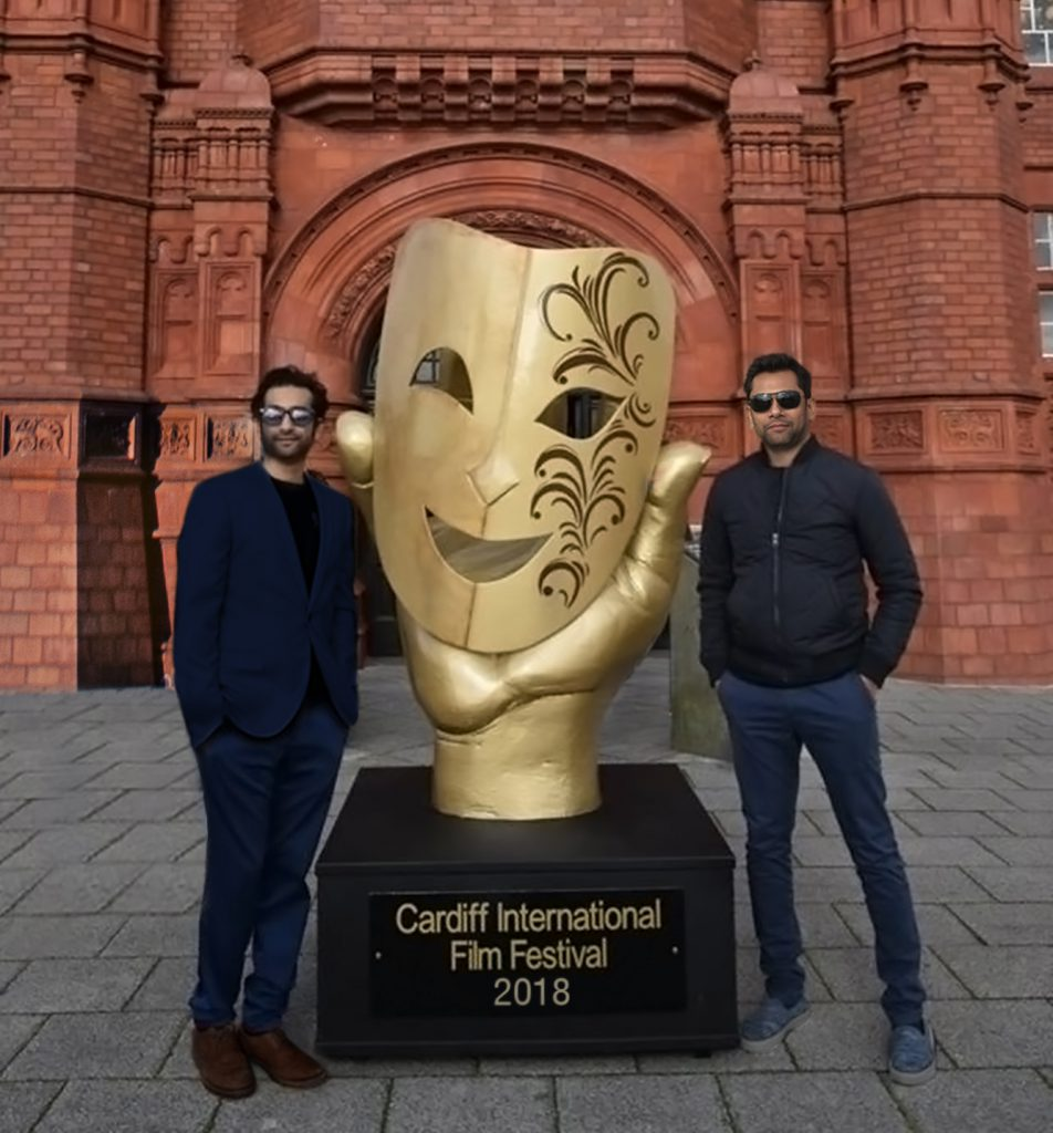 Suhail Syed, International Director and facilitator for activities related to CIFF in India & Rahil Abbas, founder - The Cardiff International Film Festival