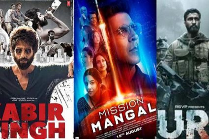TOP 21 HIGHEST GROSSING BOLLYWOOD MOVIES OF 2019 LIST AT BOX OFFICE IN INDIA