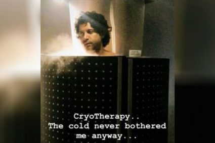CryoTherapy.. The cold never bothered me anyway: Farhan Akhtar