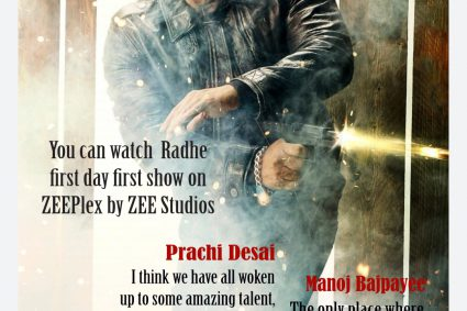 How much did Zee earn fromRadhe?Zee is estimated to have paid around Rs 225 crore for the complete rights ofRadhe.